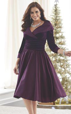 Martine Velvet Bodice Dress