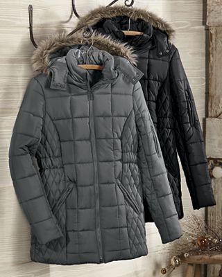 Box Quilt Coat