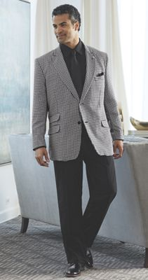 Houndstooth Suit by Stacy Adams