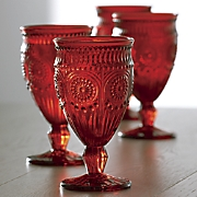 4 pc  adeline goblets set by the pioneer woman