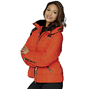 buckle puffer coat by monroe and main