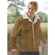 men s leather coat by vintage