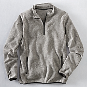 Men's 1/4-Zip Fleece Sweater
