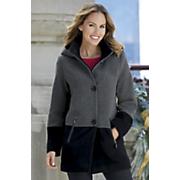 colorblock coat