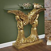 kneeling angels console