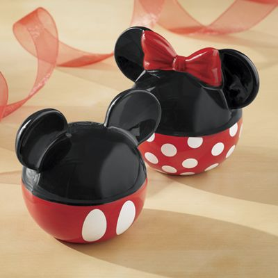 Mickey & Minnie Salt & Pepper Set