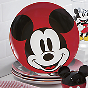 4-Piece Mickey Mouse Plate Set