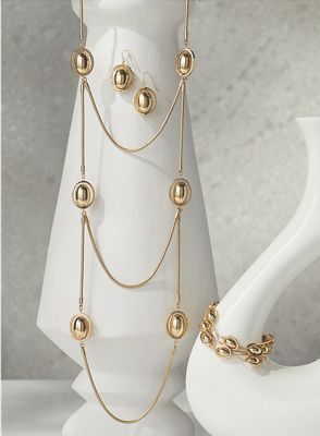 Oval Bead Jewelry