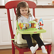 rainforest healthy care booster seat by fisher price