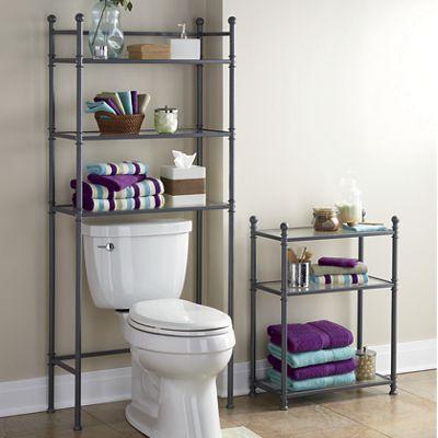 Metal & Glass Bathroom Furniture