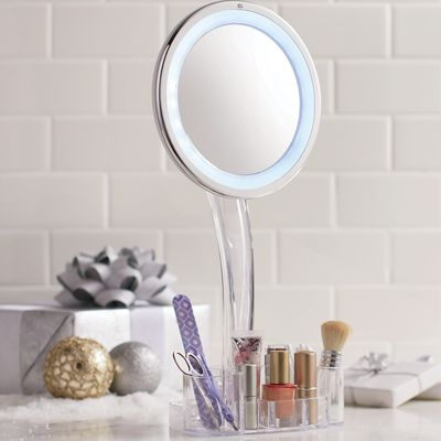Lighted Cordless Mirror