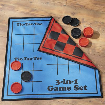 3-In-1 Giant Reversible Game Mat