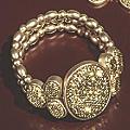 Oval Glitter Stretch Bracelet