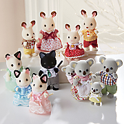 4-Piece Calico Critters Family