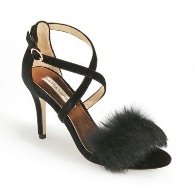 Kelian Faux-Fur Sandal by Sacha London