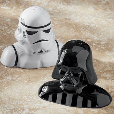 Star Wars Darth Vader & Stormtrooper Salt & Pepper Set