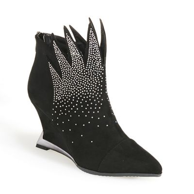 Flame Bootie by Lady Couture