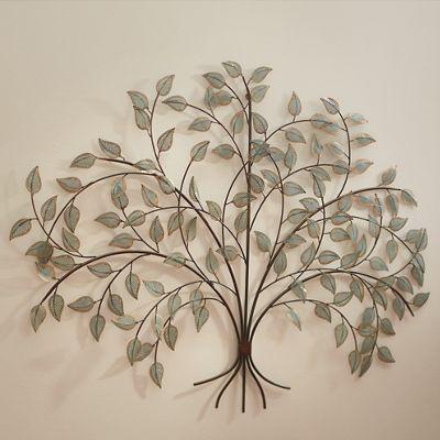 Metal Tree Décor