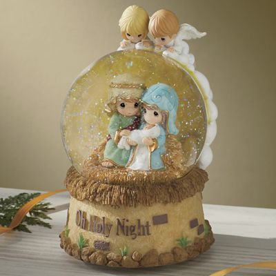 Holy Night Musical Snowglobe by Precious Moments<sup class='mark'>&reg;</sup>