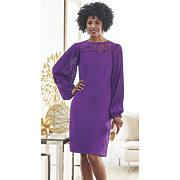 jiarra lace sleeve dress