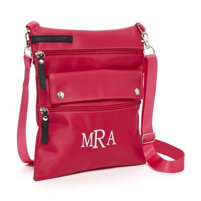 Monogrammed Crossbody Bag