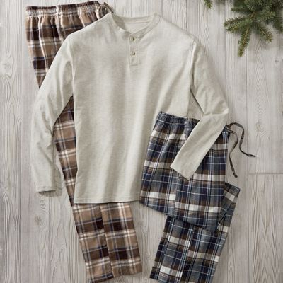Men's Harrison 3-Piece Pajama Set