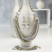 Two-Tone Multistrand Jewelry