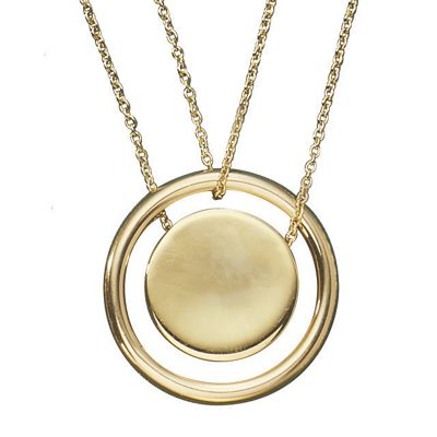 3-In-1 Circle Necklace