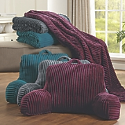 lounging pillow   throw set