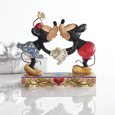 """For My Sweetie"" Mickey and Minnie Figurine by Jim Shore"