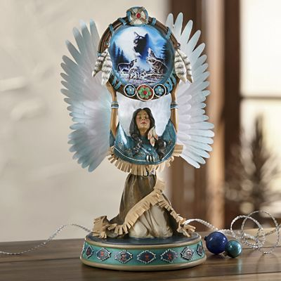 Lighted Heritage Figurine