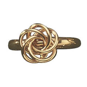 10K Gold Love Knot Ring