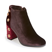 Colorblock Jewel Bootie by Monroe and Main