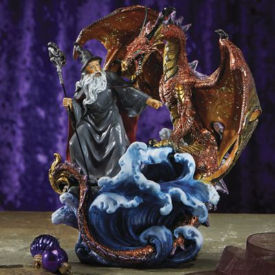 Wizard Dragon Figurine