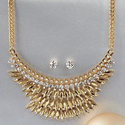 Crystal/Marquise Necklace/Earring Set