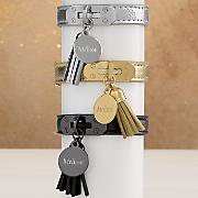 Name/Tassel Strap Bracelet