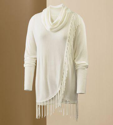 Side Fringe Sweater