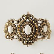 Beaded/Crystal Vintage Stretch Bracelet