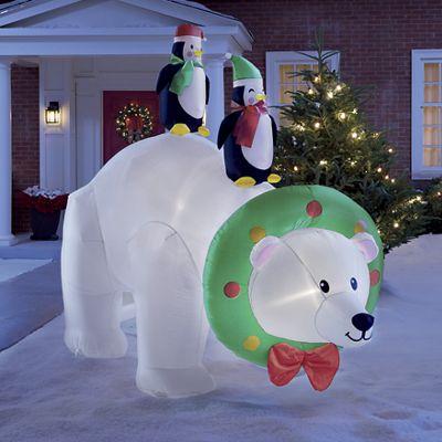 Polar Bear Inflatable
