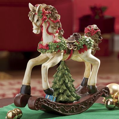 Musical Christmas Rocking Horse