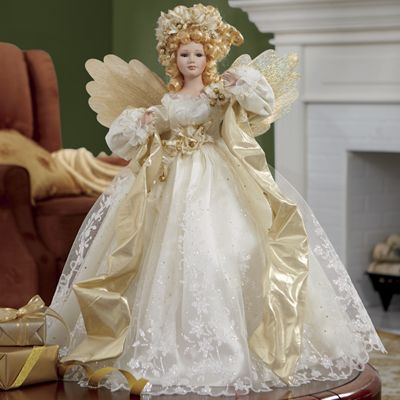 Lighted Musical Holiday Angel