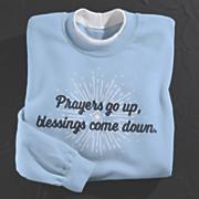 prayers and blessings sweatshirt