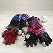 2-In-1 Colorful Handwarmer/Glove with Touch Screen Tips