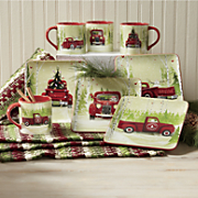 Christmas Vacation Plates and Mugs