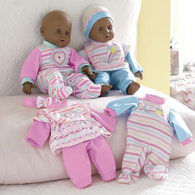 Twin Doll Set