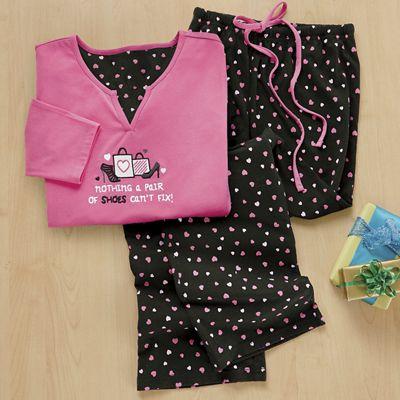 Shoe Lover's Pajama Set