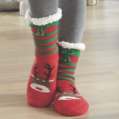 Thermal Holiday Socks