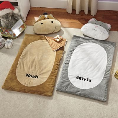 Personalized Sleeping Bag with Pillow