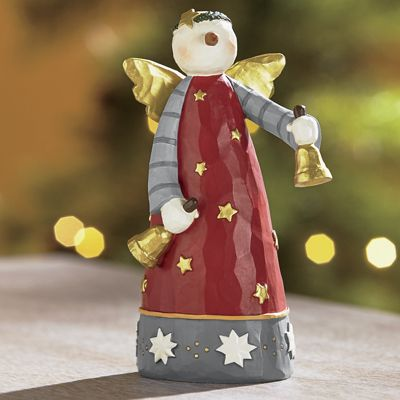 Ring in The Holiday Figurine by Williraye Studio