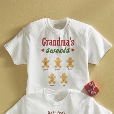 Personalized Grandma's Sweets Tee